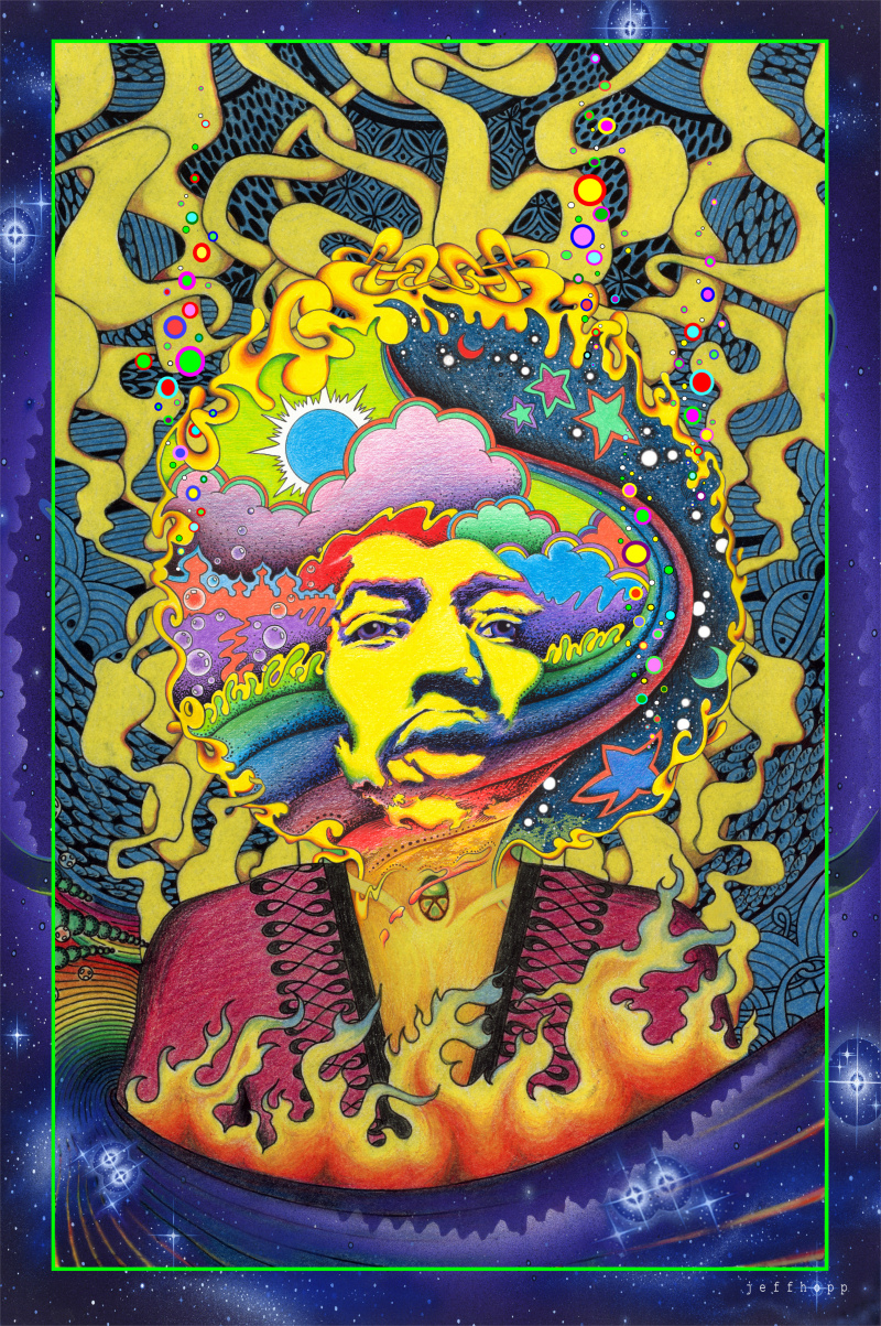 Jimi Hendrix Images By Jeff Hopp HD Wallpaper And Background Photos