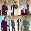 Johnny Depp & Sir Christopher Lee At the BFI awards - johnny-depp photo