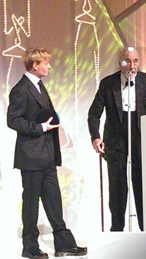 Johnny Depp & Sir Christopher Lee At the BFI awards