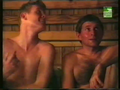 Josef Vana in hot sauna..