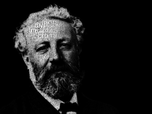 Poets & Writers wallpaper called Jules Verne