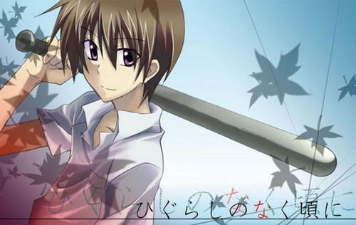 Higurashi no Naku Koro ni wallpaper possibly with anime entitled Keiichi Maebara