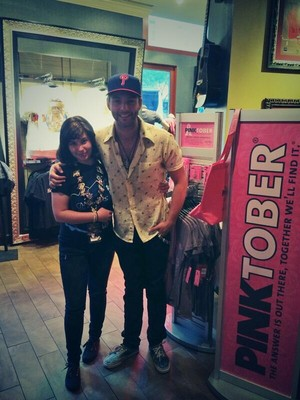 Keith supporting PINKTOBER at the Hard Rock Cafe