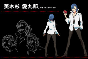 Kill la Kill character sheets