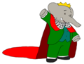 King Babar - disney-junior fan art