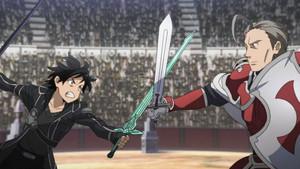 Kirito vs Heathcliff
