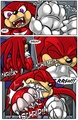 Knuckles the Wereechidna transformation