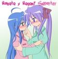 Konata x Kagami