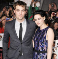 Kristen Stewart and Robert Pattinson(aka Bella Swan and Edward Cullen)