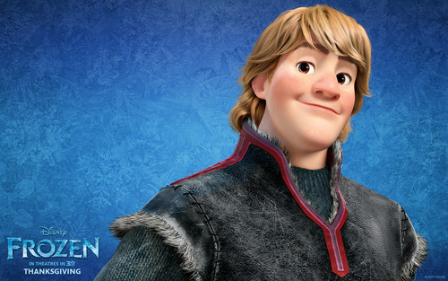 Холодное сердце Обои probably with an outerwear, a box coat, and an overgarment titled Kristoff Обои