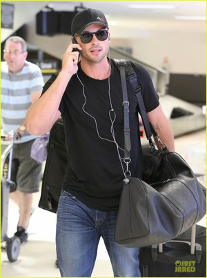 LAX Arrival After Toronto Film Festival!