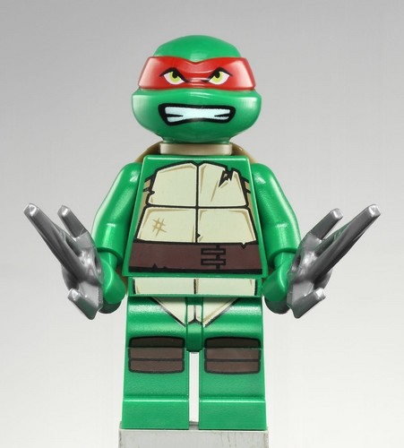 2012 Teenage Mutant Ninja Turtles wallpaper entitled Lego Raphael