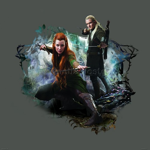Legolas Wallpaper: Legolas And Tauriel Images Legolas And Tauriel HD