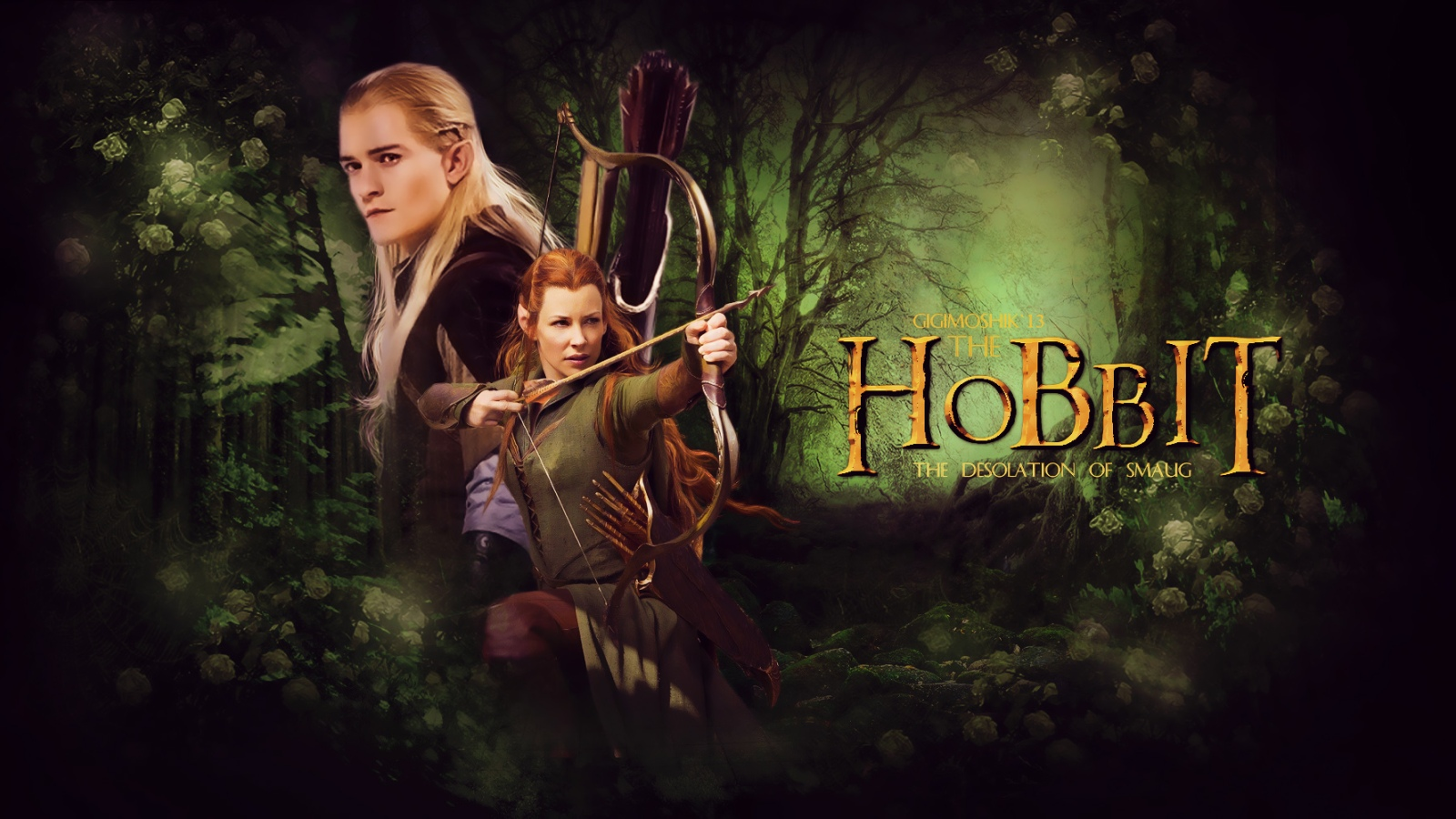 Legolas and Tauriel Nerdist