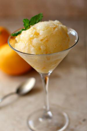 نیبو, لیموں Sorbet