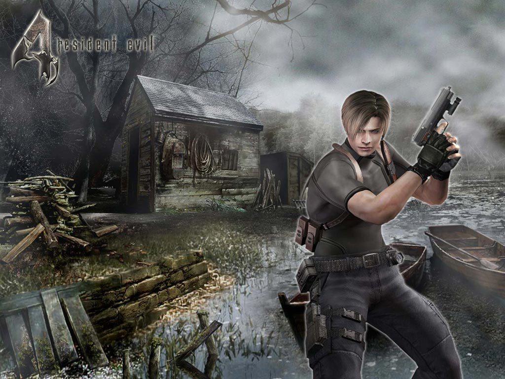 Leon Kennedy Wallpaper Resident Evil 4 Fondo De Pantalla