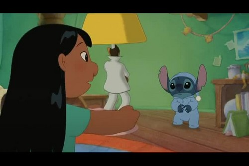 Lilo & Stitch Hintergrund containing Anime titled Lilo And Stitch 2: Stitch Has A Glitch