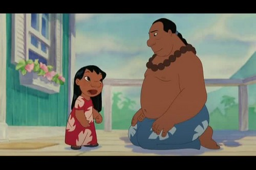 Lilo & Stitch वॉलपेपर containing ऐनीमे called Lilo And Stitch 2: Stitch Has A Glitch