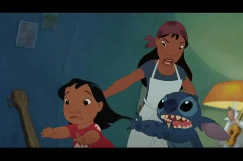 Lilo & Stitch 壁纸 with 日本动漫 titled Lilo And Stitch 2: Stitch Has A Glitch