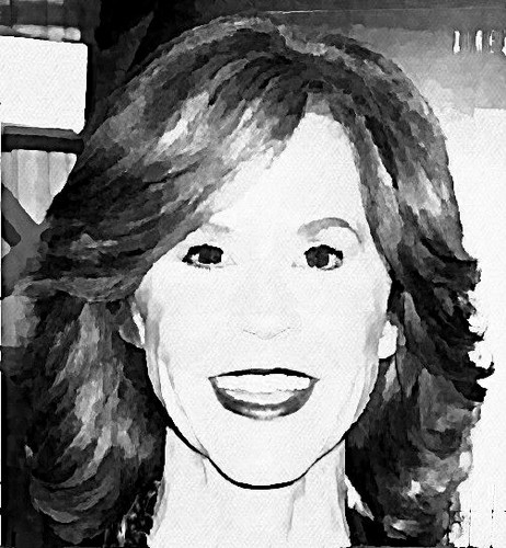 The Linda Blair Pretty Corner kertas dinding titled Linda Blair