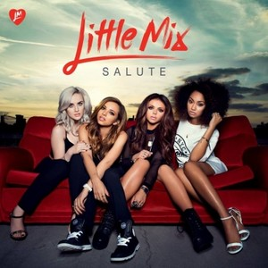 "Little Mix Official ""Salute"" Album Cover"