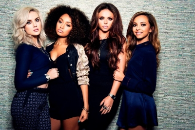 "Little Mix پیپر وال containing a well dressed person and a portrait titled Little Mix ""Salute"" Album تصویر shoots"