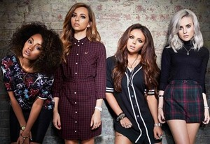 "Little Mix ""Salute"" Album bức ảnh shoots"