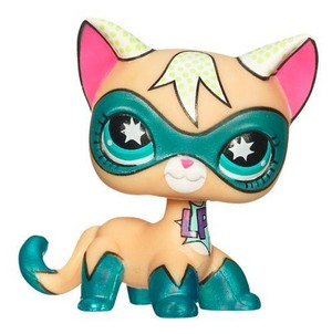 Littlest Pet duka SDCC 2009 Superhero Cat