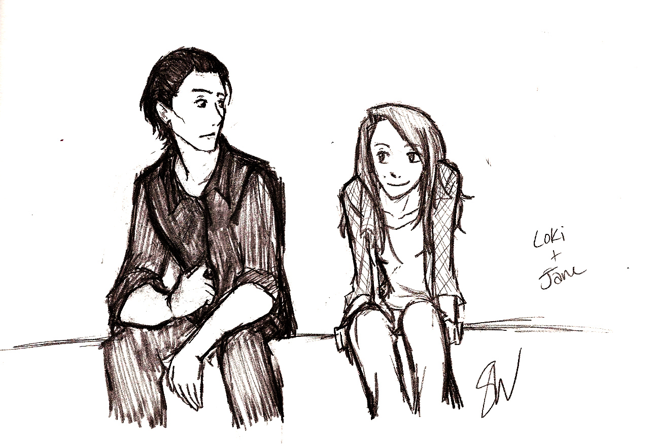 Loki and Jane - Loki and Jane peminat Art (35851514) - Fanpop