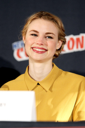 Lucy Fry at the NY Comic Con