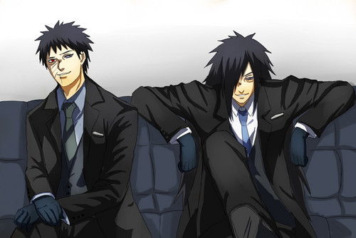Madara Uchiha wallpaper probably with a business suit and a suit entitled Madara Fanart