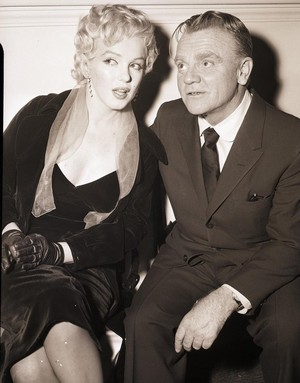 Marilyn And James Cagney