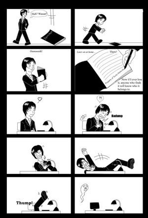 Matsuda Finds the Death Note
