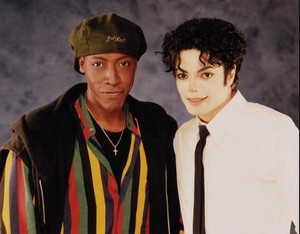 Michael And Arsenio Hall