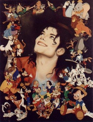 Michael And disney Characters
