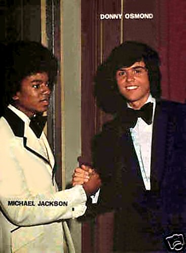 Michael Jackson Wallpaper Containing A Business Suit And Dress Called Donny Osmond