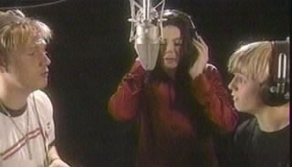 Michael In The Recording Studio With The Carter Brothers