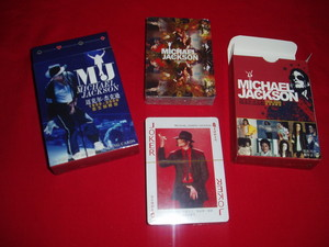 Michael Jackson Playing Cards