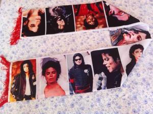 Michael Jackson embrulho, envoltório xaile Scarf