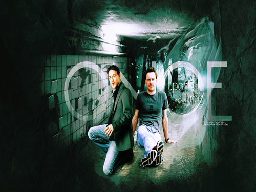 James McAvoy and Michael Fassbender wallpaper containing a sign and a street called Michael & James ★