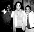 Michael With David Gest And Paul Anka
