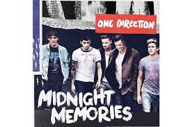 Midnight Memories One Direction Album Cover!