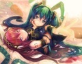 Miku x luka - vocaloids fan art