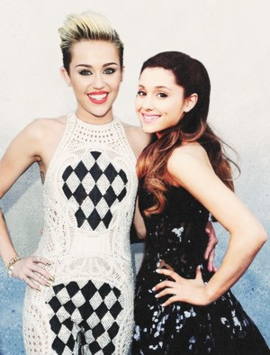Miley with Ariana