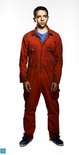 Misfits E4 wallpaper probably containing a sweat suit, a workwear, and an outerwear entitled Misfits - Season 5 - Full Set of Cast Promotional Photos