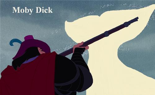 डिज़्नी क्रॉसोवर वॉलपेपर called Moby Dick