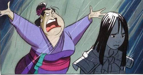Mulan wallpaper with anime called Mulan 2 concept art