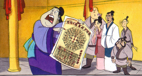 Mulan wallpaper containing anime entitled Mulan 2 concept art