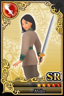 Mulan Cards in Kingdom Hearts X