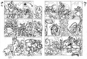 ムーラン comic によって Tom Bancroft